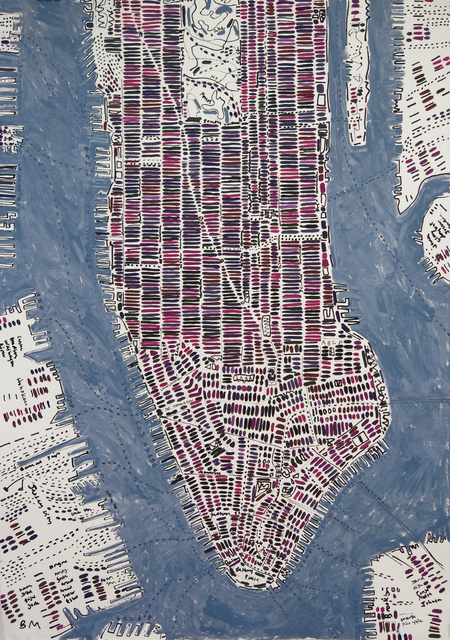 , 'Elderberry Manhattan,' 2016, Rebecca Hossack Art Gallery