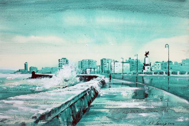 , 'Malecón Verde,' 2014, Robert Berman Gallery