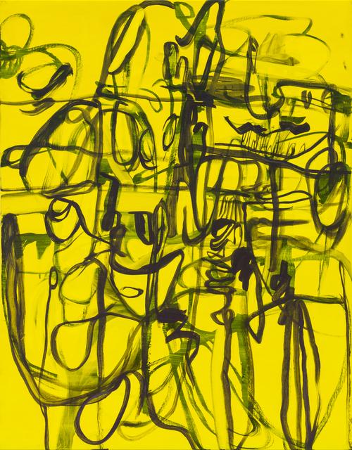 Jana Schröder, 'Kadlites RS21', 2020, Painting, Acrylic, graphite, lead and oil on canvas, Natalia Hug Gallery
