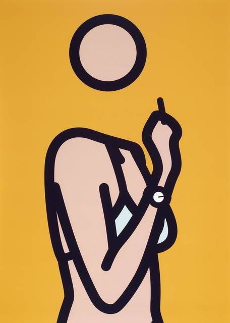 Julian Opie, 'Ruth with Cigarette 3', 2005 -2006, Print, Lambda print in colour, Gallery Red