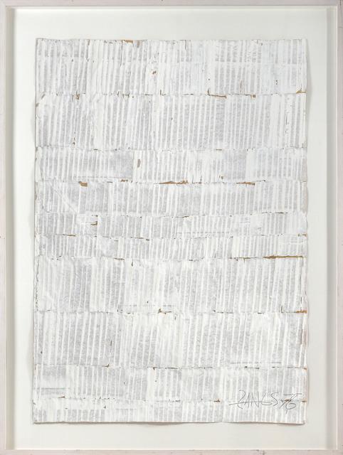 , ' Reihung 76,' 1976, e.artis contemporary