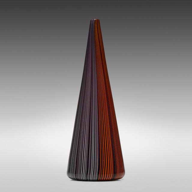 James Carpenter, 'Tessuto vase', c. 1979, Wright