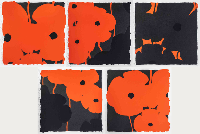 , 'Poppies (Set of 5),' 2007, ArtWise