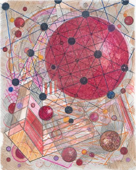 , 'Le Relais Du Postillon Playground Red,' 2002, Pilar Corrias Gallery