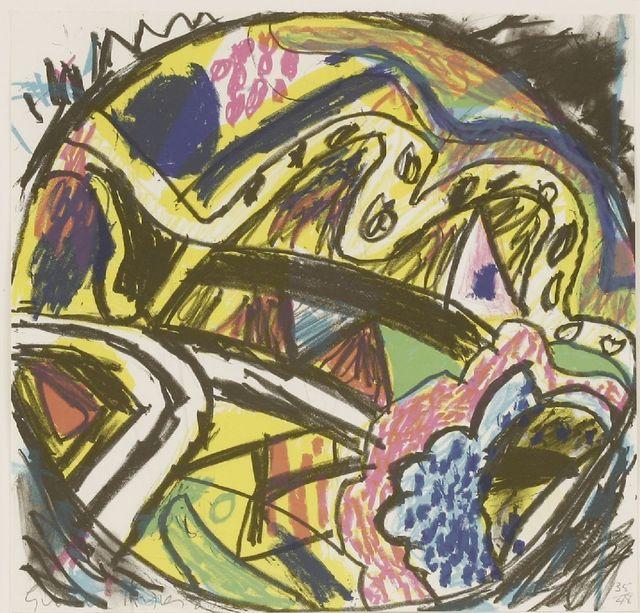 Gillian Ayres, 'Crystal Fields', 1987, Sworders