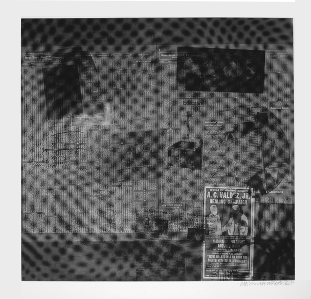Robert Rauschenberg, 'Surface', 1970, Print, Screenprint in colors on Aqua B 844 paper. (Foster 122). Signed by the artist, Meyerovich Gallery