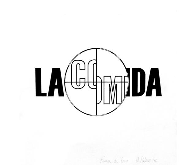 , 'La comida II,' 1976, Herlitzka + Faria