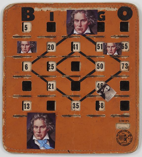 , 'Bingo Beethoven,' 2014, Tibor de Nagy