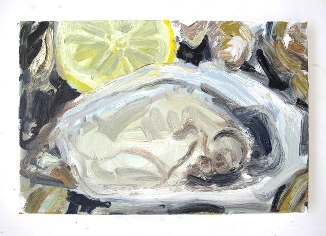 , 'Oysters and lemon #5,' 2019, Dürst Britt & Mayhew