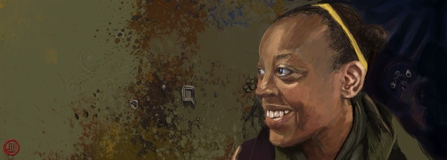 , 'The Village Portrait Project: Diane Kagoyire - Writer, Editor (1/250 portraits to date),' 2012, Miller White Fine Arts