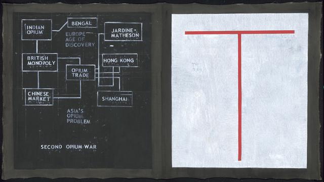 Sawangwongse Yawnghwe, 'Opium Trade', 2018, TKG+