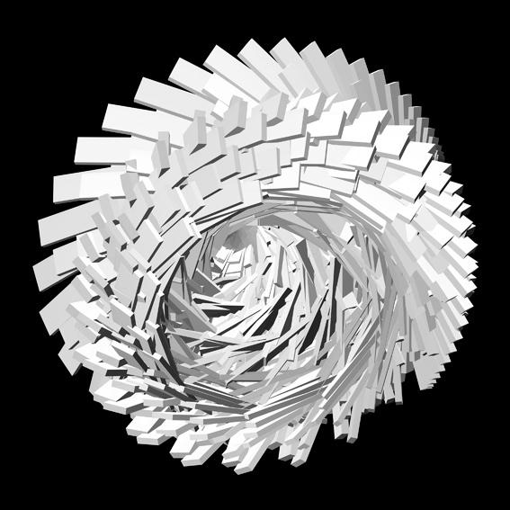 , 'Fractile Flowers B&W 2,' 2008, Puerta Roja