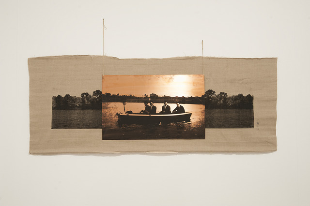 , 'Ties in the Boat on the Lake,' 2015, Sabrina Amrani