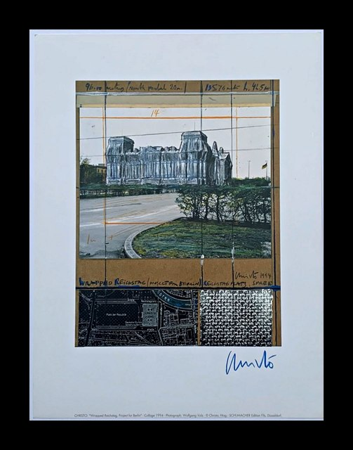 Christo, 'Project for Berlin: Wrapped Reichstag', 1994, Alpha 137 Gallery