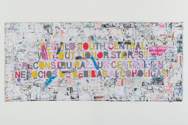 , 'Rebuild South Central,' 2015, Hammer Museum
