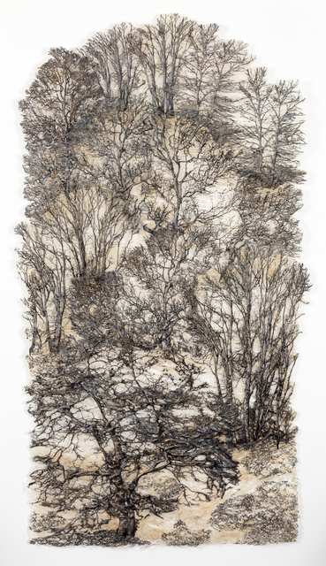 Lesley Richmond, 'Secret Forest, Silver', 2019, Duane Reed Gallery