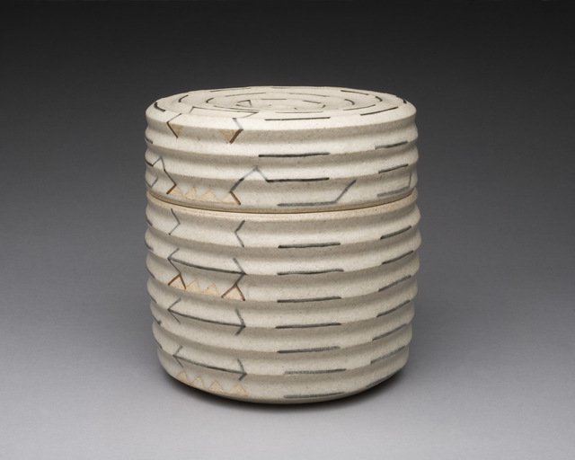 , 'Box with Cover, Stoneware,' , LACOSTE / KEANE GALLERY