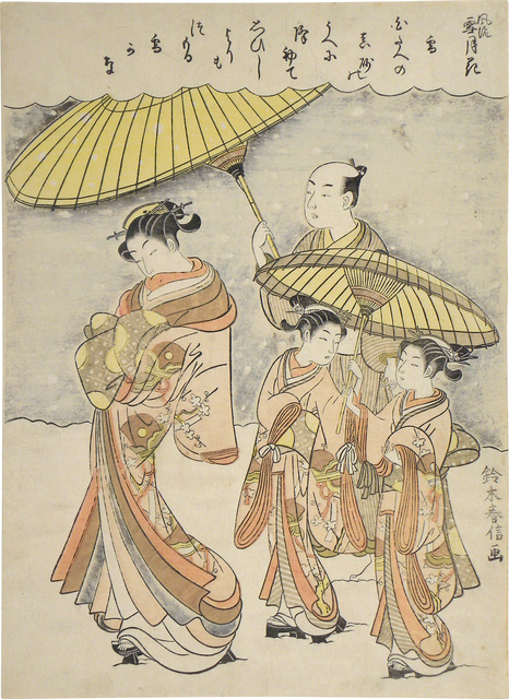, 'Fashionable Snow, Moon and Flowers: Snow,' , Scholten Japanese Art