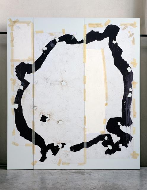 , 'Corte VI (tríptico),' 2017, Terreno Baldío
