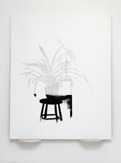 , 'Interior on Canvas,' 2016, Galerie Anhava