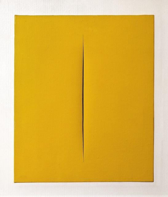 , 'Concetto Spaziale, Attesa ,' 1966, De Jonckheere