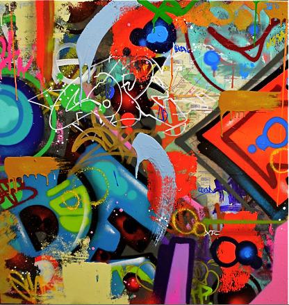 Cope2, 'Mean Subway Map', 2018, Soho Contemporary Art