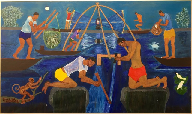 , 'Night Fishing in Manila Bay,' 2008, Baró Galeria