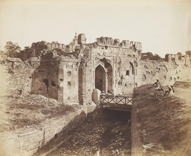 , 'Cashmere Gate, Delhi,' 1858, Sarmaya
