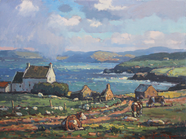 , 'Grazing by the Bay,' , J. Cacciola Gallery