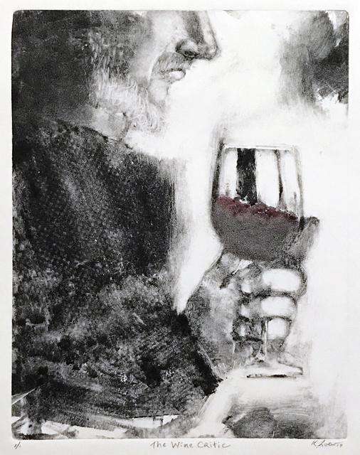 Karen Loew, 'The Wine Critic', 2019, The Galleries at Salmagundi