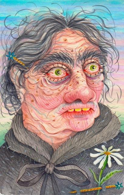 , 'Daisy Pin'd Old Maid,' 2016, Asya Geisberg Gallery