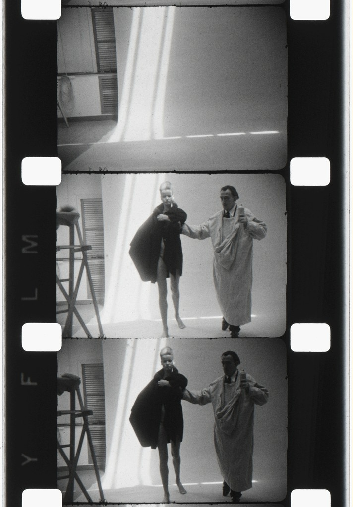 Salvador Dali and Nena von Schlemberugge, NYC, 1964