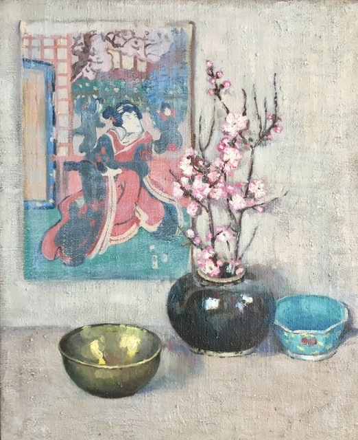 , 'Still Life With Japanese Print,' Early 20th century, Bakker Gallery