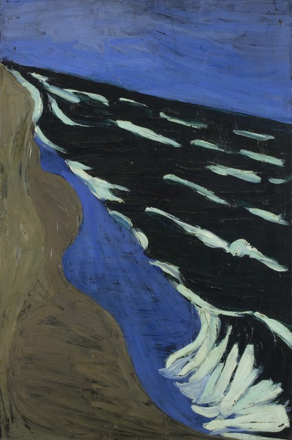 Titina Maselli, 'The sea', 1950, Painting, Oil on board, Bertolami Fine Arts