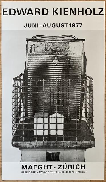 Edward Kienholz, 'Untitled (Poster for Maeght, Zurich)', 1977, Kwiat Art