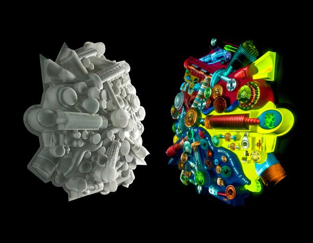 Peter Sarkisian, 'Extruded Video Engine (large version) #3', 2007, Jonathan Ferrara Gallery