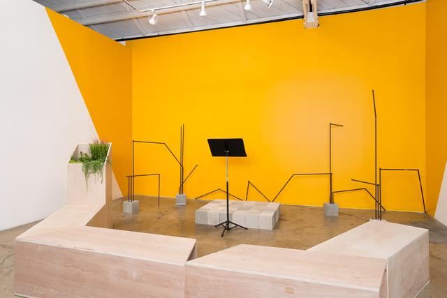 , 'Untested Address Platform (Social sculpture),' 2016, Klowden Mann