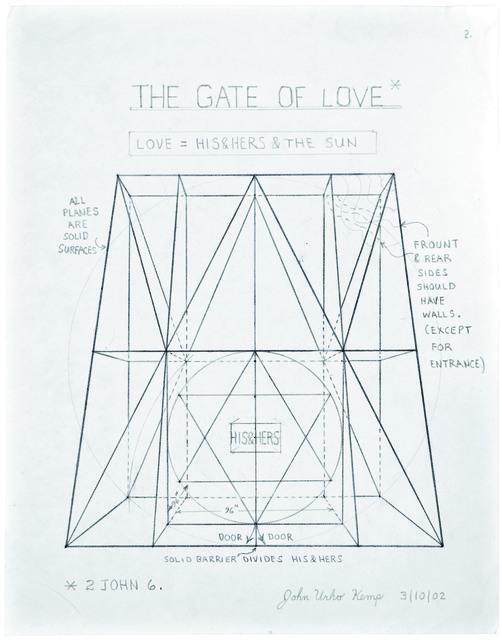 , 'untitled (the gate of love),' 2002, christian berst art brut