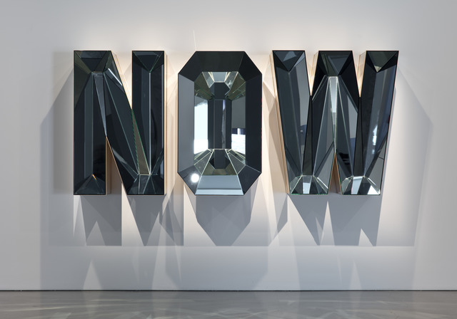 , 'NOW (Blue Mirror),' 2014, MOCA, Los Angeles