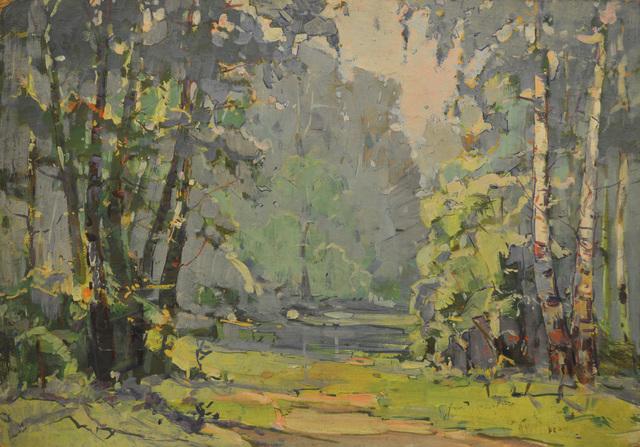 Aleksandr Nikiforovich Chervonenko, 'A blue day', 1960, Surikov Foundation