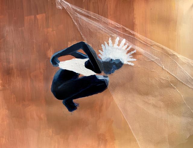 , 'Mask Untitled IV,' 2019, TAFETA