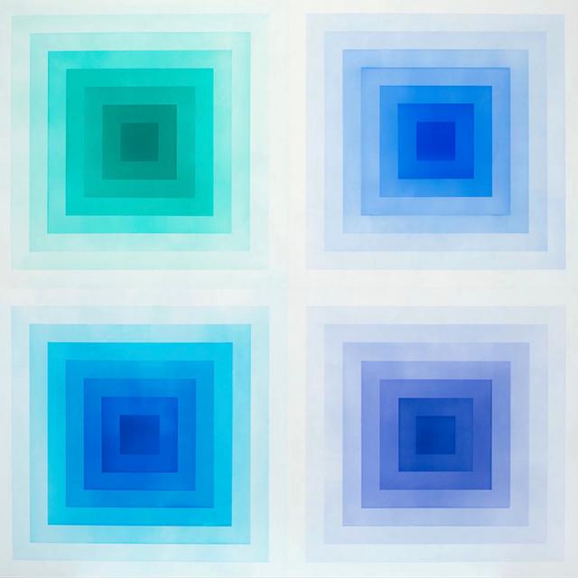 , 'SPECTRUM - BLUE,' 2017, Newzones