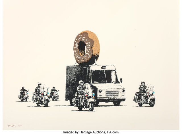 Banksy, 'Donuts (Chocolate)', 2009, Heritage Auctions