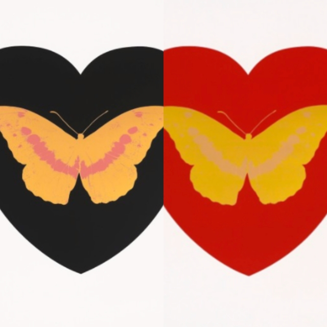 Damien Hirst, 'I Love You (Pair)', 2015, Robin Rile Fine Art