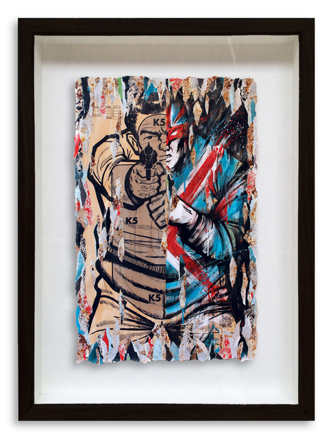 , 'Captain Britain Where Are You Now?,' 2015, StolenSpace Gallery