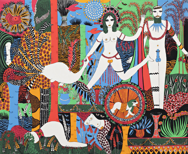 , 'Flora And Fauna,' 1973, Air de Paris