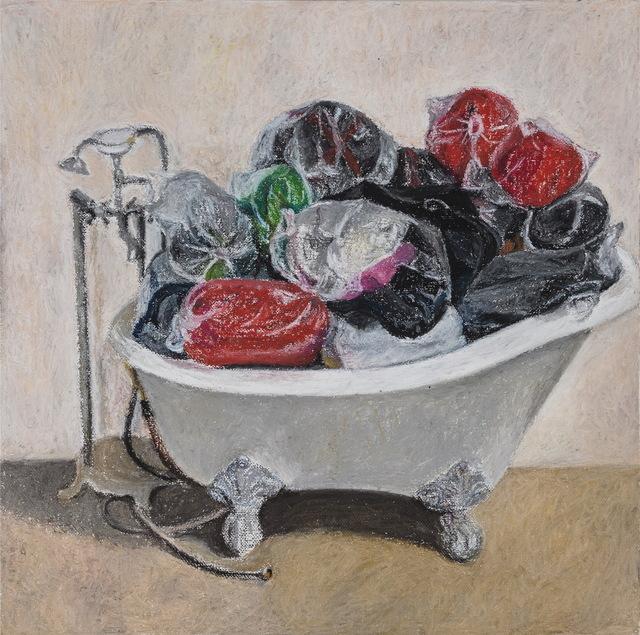 , 'The Sleeping Bag in the Bathtube,' 2014, Galerie SOON
