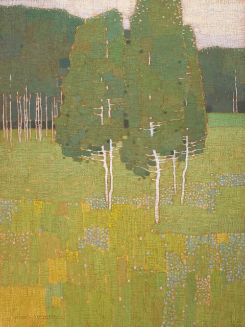 , 'Green Summer Meadow,' 2018, Jonathan Cooper
