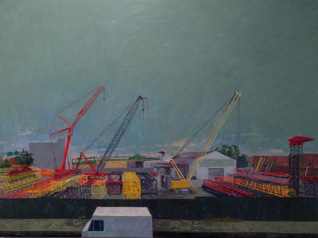 Ron Milewicz, 'Three Cranes', 2012, Elizabeth Harris Gallery