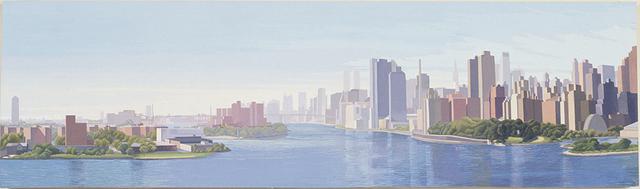 , 'Triboro Bridge Looking South,' 2003, Walter Wickiser Gallery